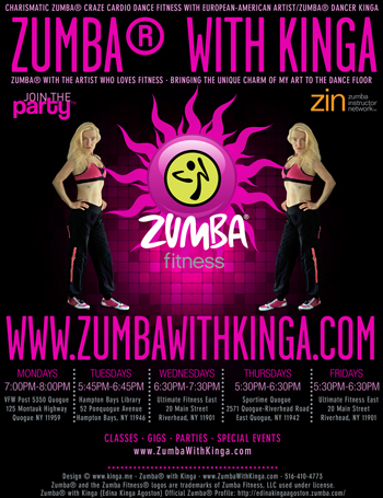Hamptons Zumba Events - Zumba Events in the Hamptons Long Island New York