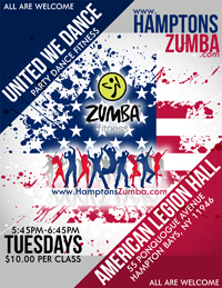 United We Dance - Hamptons Zumba - Party Zumba - Long Island New York