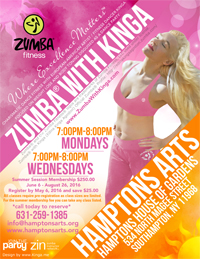 Dance Fitness with Kinga Hamptons Arts at Hamptons Arts in Southampton Long Island New York