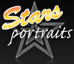 Stars Portraits International  Portrait Art Gallery