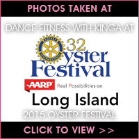 Dance Fitness with Kinga at 2015 Oyster Festival
