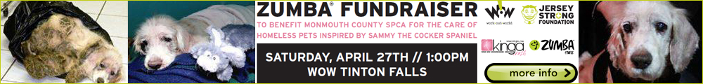 Zumba Fundraiser for Monmouth County SPCA with European American Artist Zumba Dancer KINGA