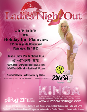 Zumba with Kinga Dance Fitness Gig - Ladies Night Out at Holiday Inn Plainview Long Island New York
