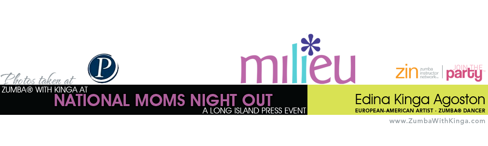 Zumba with Kinga Dance Fitness Gig - Long Island Press Moms Night Out at Broadway Mall Hicksville Long Island New York