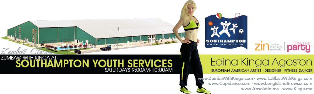 Zumba with Kinga at Southampton Youth Services Long Island Hamptons New York