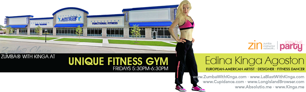 Zumba with Kinga at Unique Fitness Gym in Shirley Long Island New York