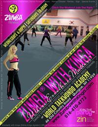 Zumba with Kinga Dance Fitness Classes at World Taekwondo Academy (Karate Kids) in Quogue, Hamptons, Long Island, New York