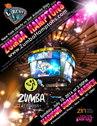 Zumba(R) Hamptons at Madison Square Garden