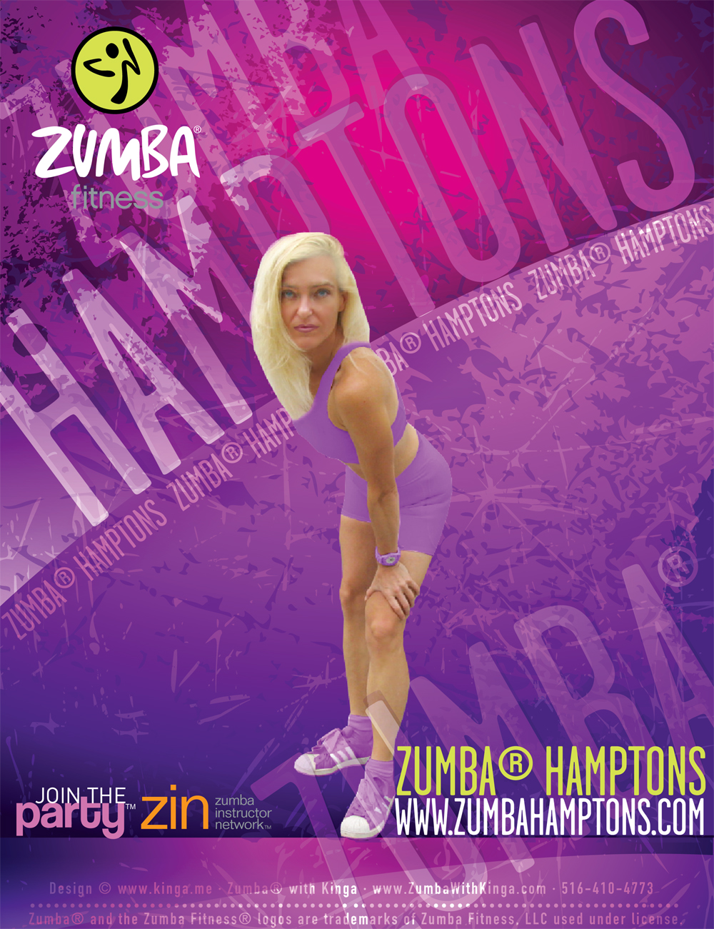 Hamptons Zumba - Zumba Hamptons - The Home of Zumba in the Hamptons Long Island New York - Zumba Dance Fitness Classes, Events, Parties, Gigs in the Hamptons Long Island New York with Long Island Artist, Zumba Dancer, licensed Zumba Instructor, Edina Kinga Agoston