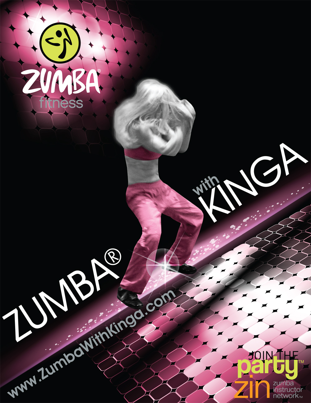 Long Island Zumba Diva - European American Artist Zumba Dancer Edina Kinga Agoston